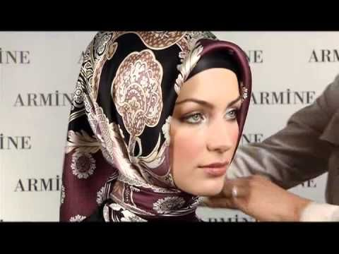 Armine Esarp Baglama Modelleri - 4 - YouTube