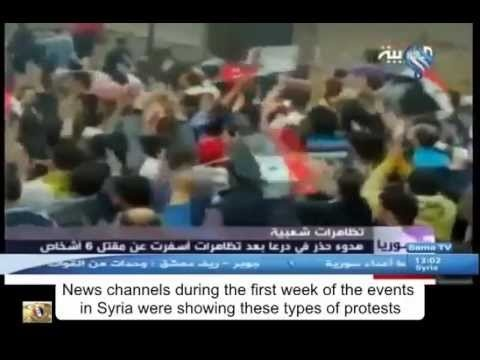 Sama TV, a Syrian based TV channel, banned by the EU & the Arab League in their quest to promote free speech in Syria, has gathered this short video clip that tells much about gathering and compiling weapons, ammunition, and money in the first days of the Syrian crisis...
