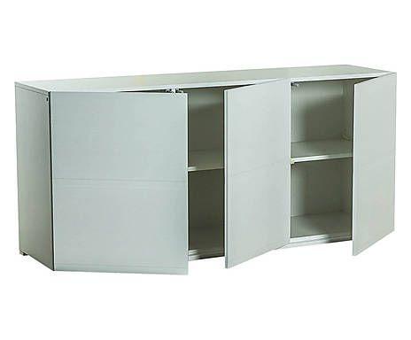 Dressoir Portofino, wit, L 165 cm  Design zoals design bedoeld is Dressoir Portofino, wit, L 165 cm