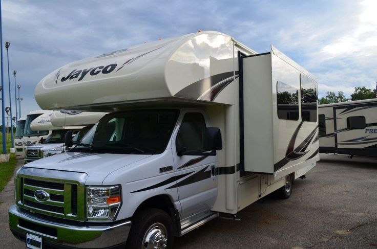 "ENJOY RIDE-ENHANCING UPGRADES ON THIS RV!  2017 Jayco Redhawk 26XD Set on a Ford E-450 chassis and equipped with the all-new JRide package for ultimate ride enhancement, this Redhawk Class C motorhome is a pleasure to drive! Enjoy these extras that are included: a 32"" LED TV, a power patio awning, an 8 cu. ft. refrigerator, a backup camera & monitor, and more!  Give our Redhawk expert Sandi Ballard a call 810-691-8465 for pricing and more information."