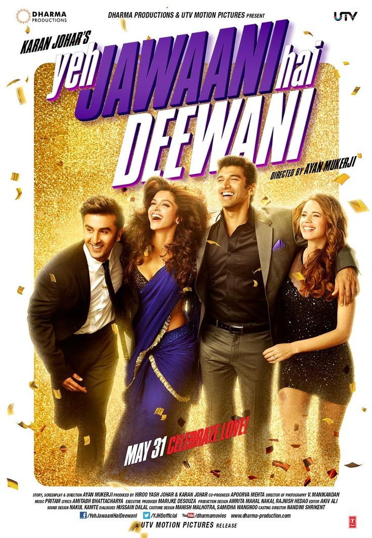 Yeh Jawaani Hai Deewani w/ Shahid Kapoor, Deepika Padukone, Aditya Roy Kapoor and Kalki Koechelin