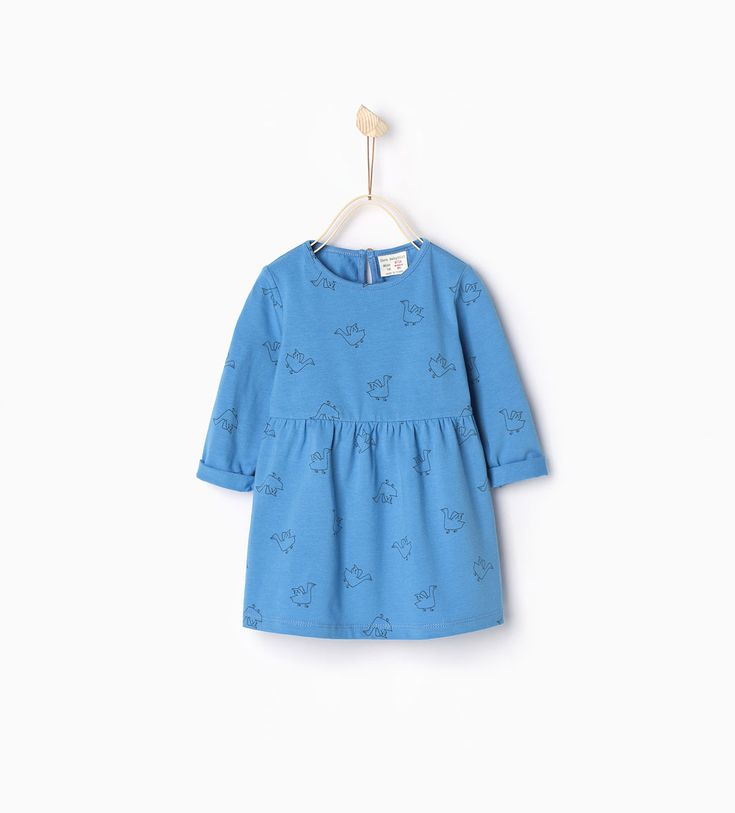 Ducks dress-Dresses-Baby girl | 3 months - 3 years-COLLECTION SS16 | ZARA United States