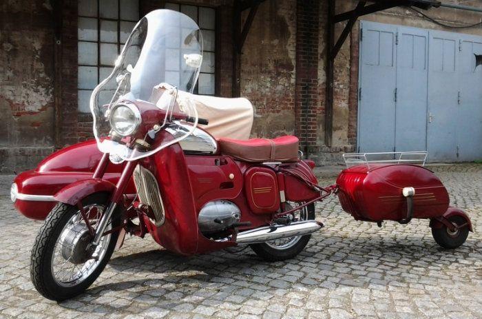 Jawa 350/360 and Sidecar