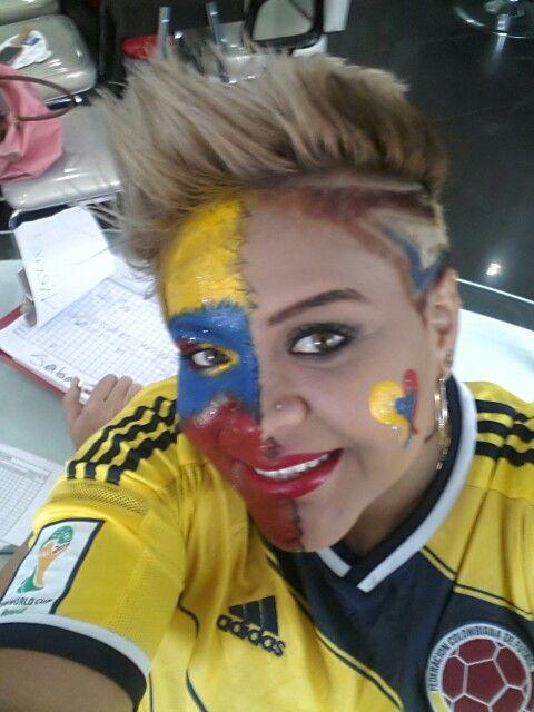Maquillaje Mundialista