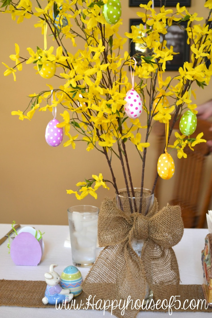 265 best Branch Decoration images on Pinterest | Projects, Easter ...