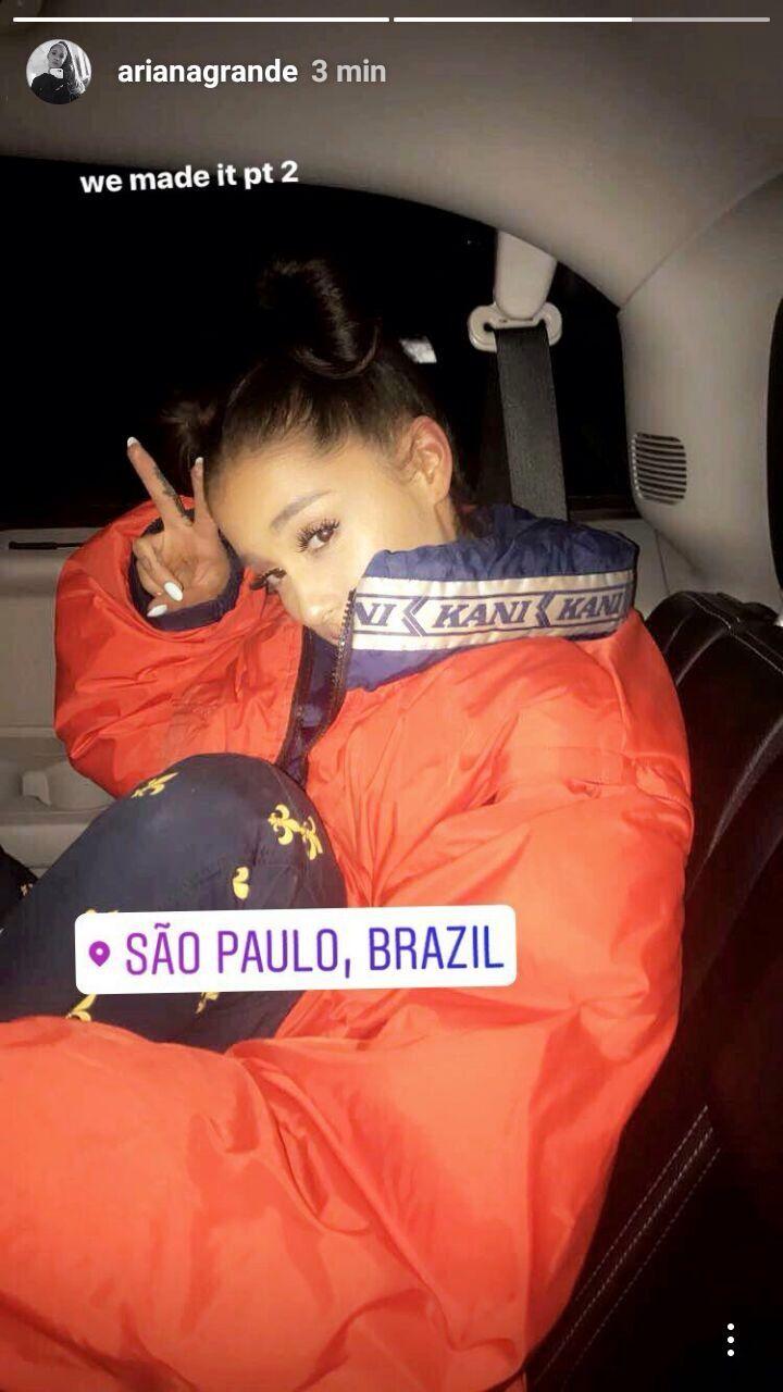 ARIANA GRANDE NO BRASIL - SÃO PAULO #arianagrande