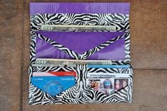 15 Cool Duct Tape Wallets | 101 Duct Tape Crafts/ just pictures                                                                                                                                                                                 More