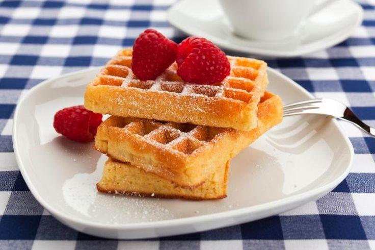 como hacer waffles