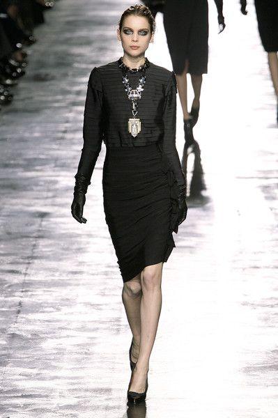 Lanvin at Paris Fashion Week Fall 2008 - Runway Photos