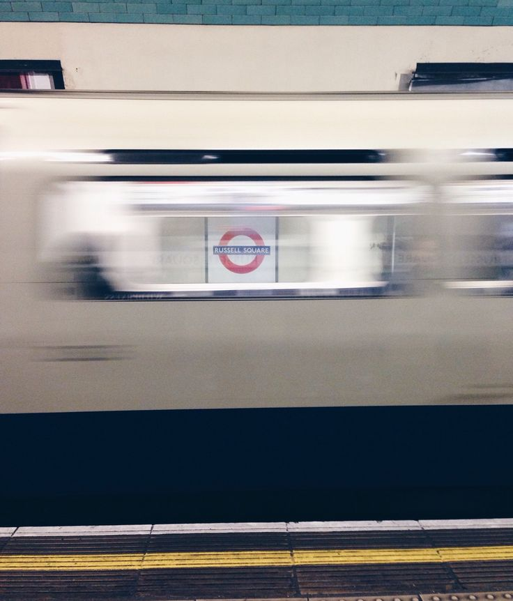"#NYU #London | ""The next station is... Russell Square."""