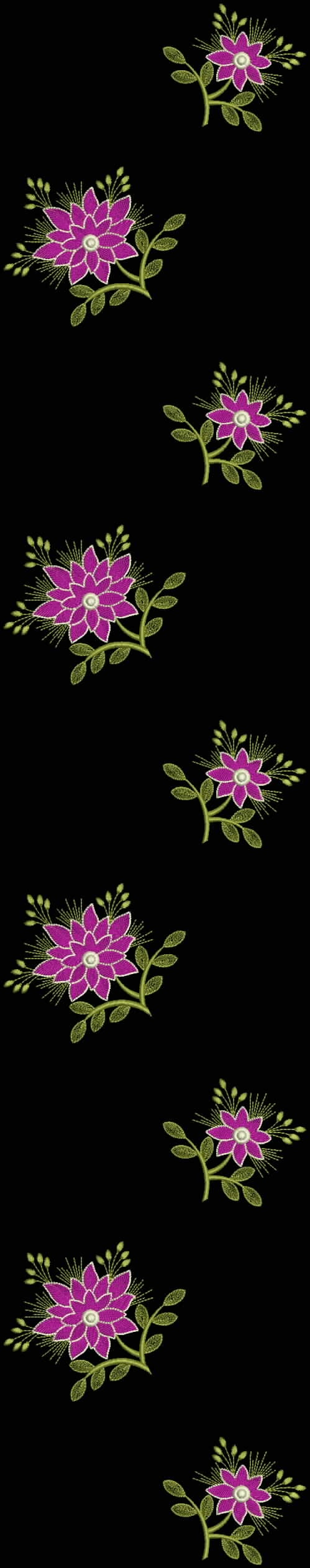 Latest Embroidery Designs For Sale, If U Want Embroidery Designs Plz Contact (Khalid Mahmood, +92-300-9406667)  www.embroiderydesignss.blogspot.com  Design# Goonj16