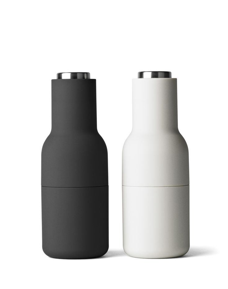 Młynki do przypraw (Stal) - Menu - DECO Salon. Simple, minimalist shape and pleasant colors, enrich each tableware. #salt #pepper #kitchenaccessories #giftidea #forhome #scandinaviandesign