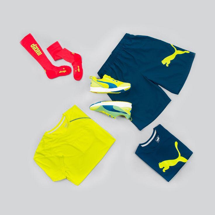 Wir haben dir schon mal was rausgelegt! #TRAININGSOUTFITS #puma #training #fitness #workout #cep #socks #crossfit #wod #yellow #red #blue