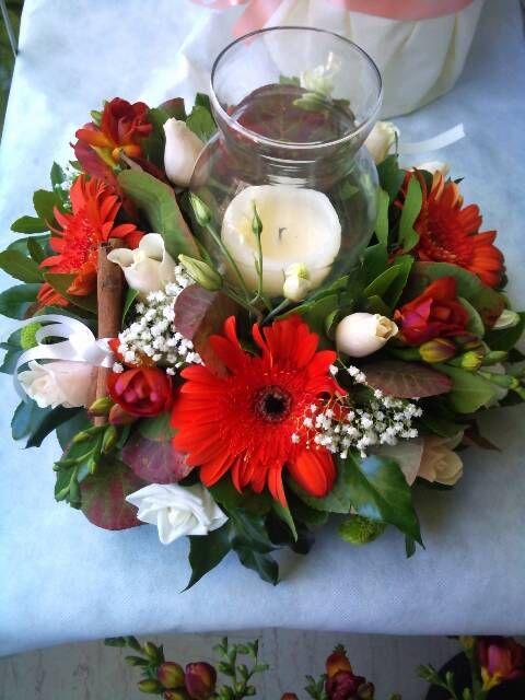 flowers4u.gr : Christmas arrangements by Flowers Papadakis χριστουγεννιάτικες δημιουργίες απο ανθοπωλείο Παπαδάκη Παλαιό Φάληρο