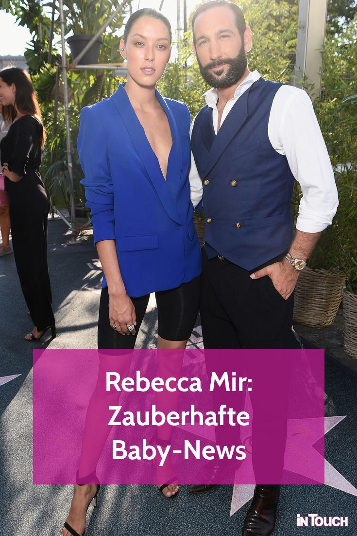 Rebecca Mir Massimo Sinato Zauberhafte Baby News Franzosisch Frauen Stil Fruhling Sommer Trends Mode Fur Vollschlanke