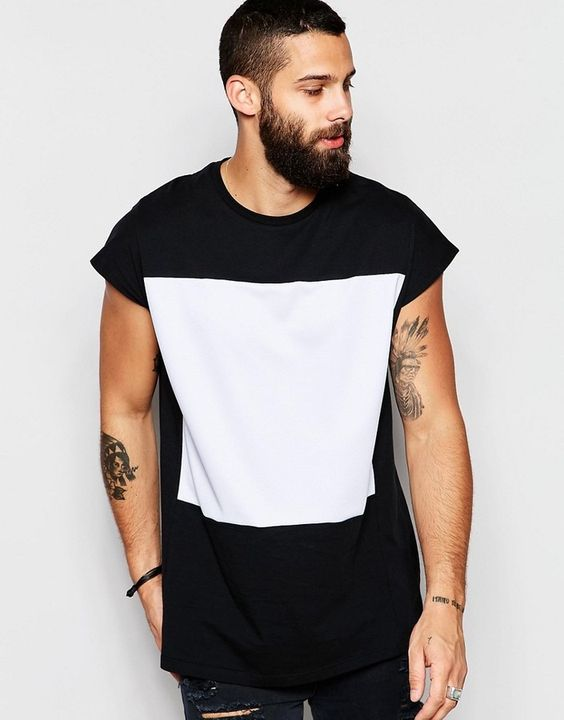 Macho Moda - Blog de Moda Masculina: Camiseta Sleeveless Oversized (Sem Manga), você usaria?