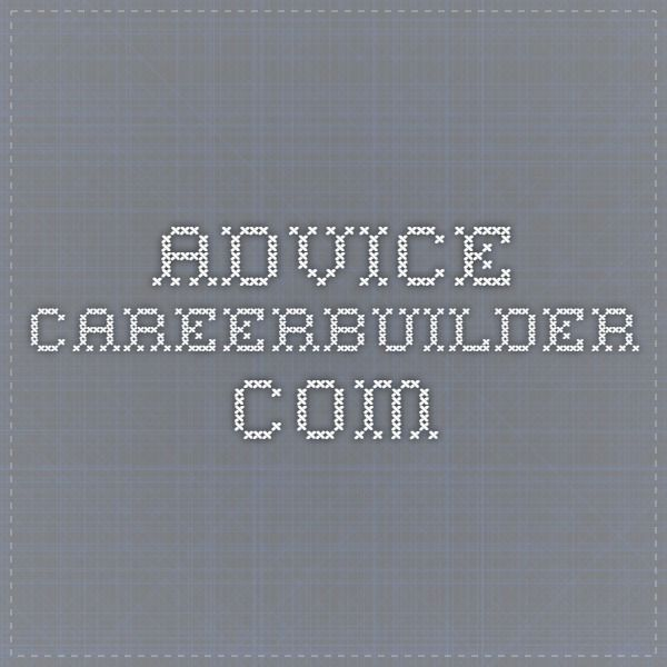 advicecareerbuilder Work Inspiration Pinterest - careerbuilder resume