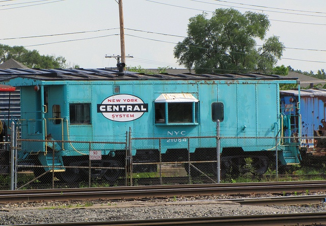 New York Central Caboose, now the National New York Central Railroad Museum in Elkhart, Indiana. Photo by Eridony, via Flickr