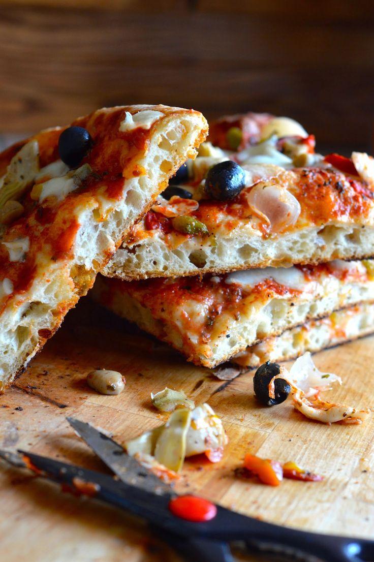 la pancia del lupo: Pizza con metodo Bonci