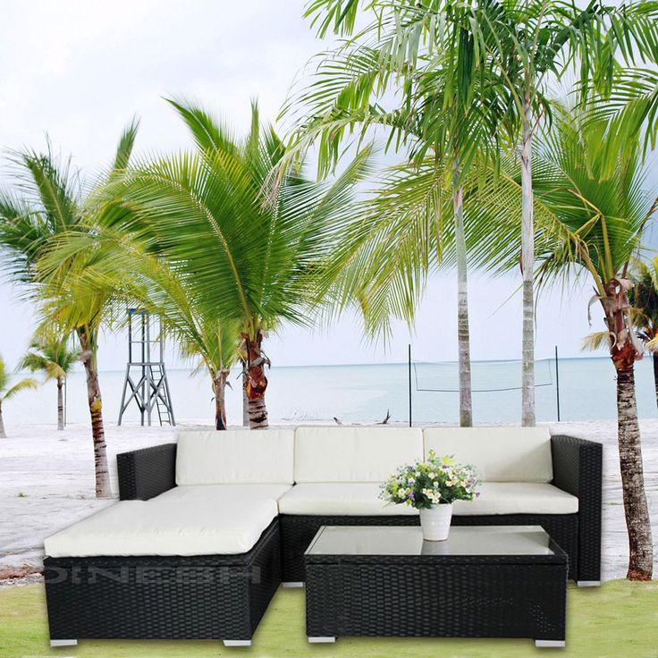the 25+ best polyrattan sofa ideas on pinterest | rattan ecksofa