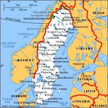 The Best Sweden Map Ideas On Pinterest Stockholm Stockholm - Sweden russia map