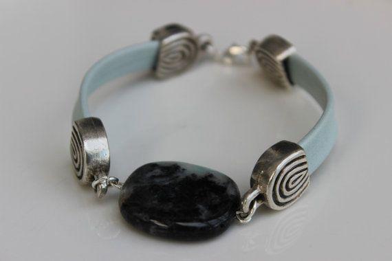 Amazonite Gemstone Bracelet on Wanelo