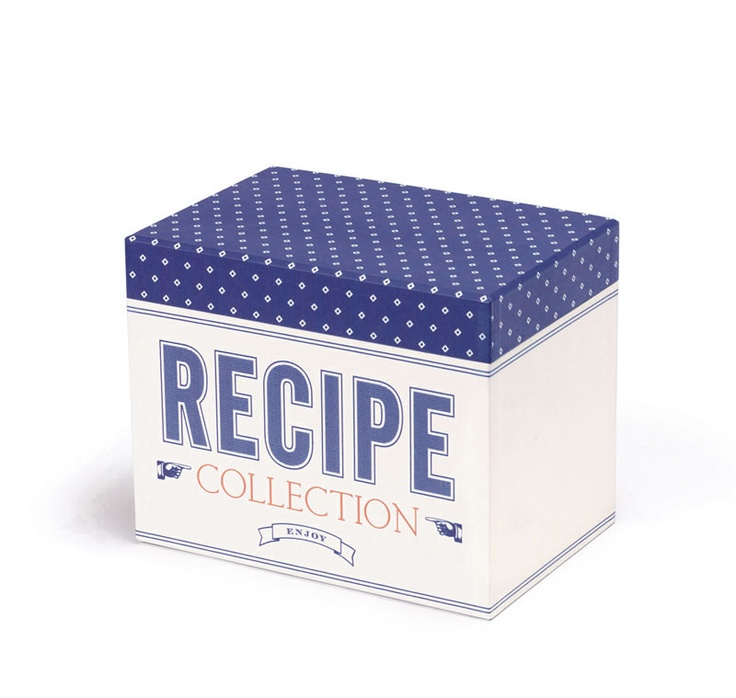 Our cute Jme recipe box (£15) comes with six separate sections and 30 blank notecards for jotting down recipes. Your mum can file away recipes, ideas and Jamie at Home recipe cards.