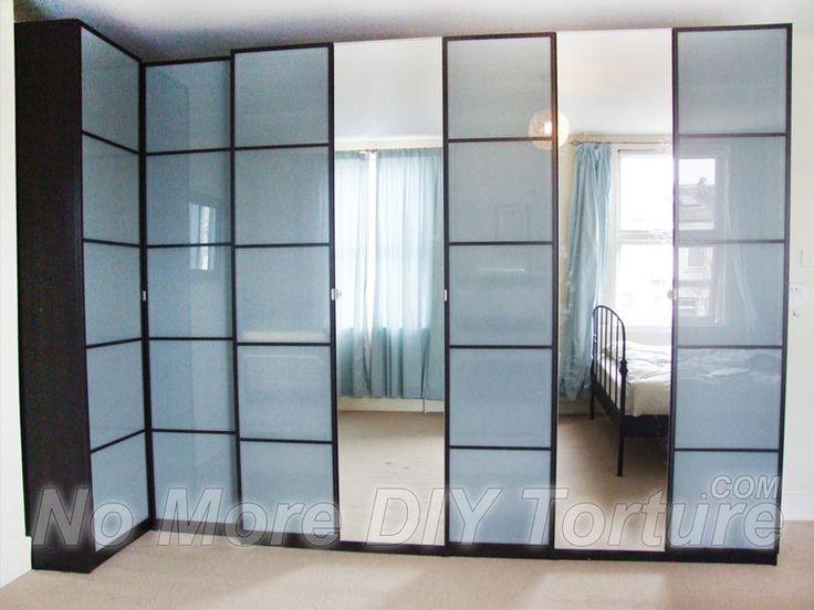 best 25 corner wardrobe ideas on pinterest corner wardrobe closet corner closet and ikea pax. Black Bedroom Furniture Sets. Home Design Ideas