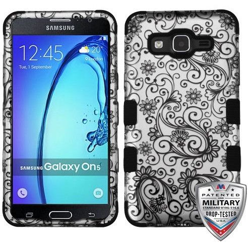 MYBAT TUFF Graphics Samsung Galaxy On5 Case - Four-Leaf Clover