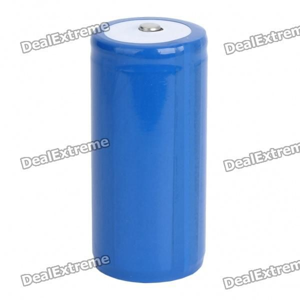 Color: Blue - Rechargeable 32650 lithium battery - Voltage: 3.7V - Capacity: 5000~5500mAh - Great replacement battery for your device http://j.mp/1tpgGPv