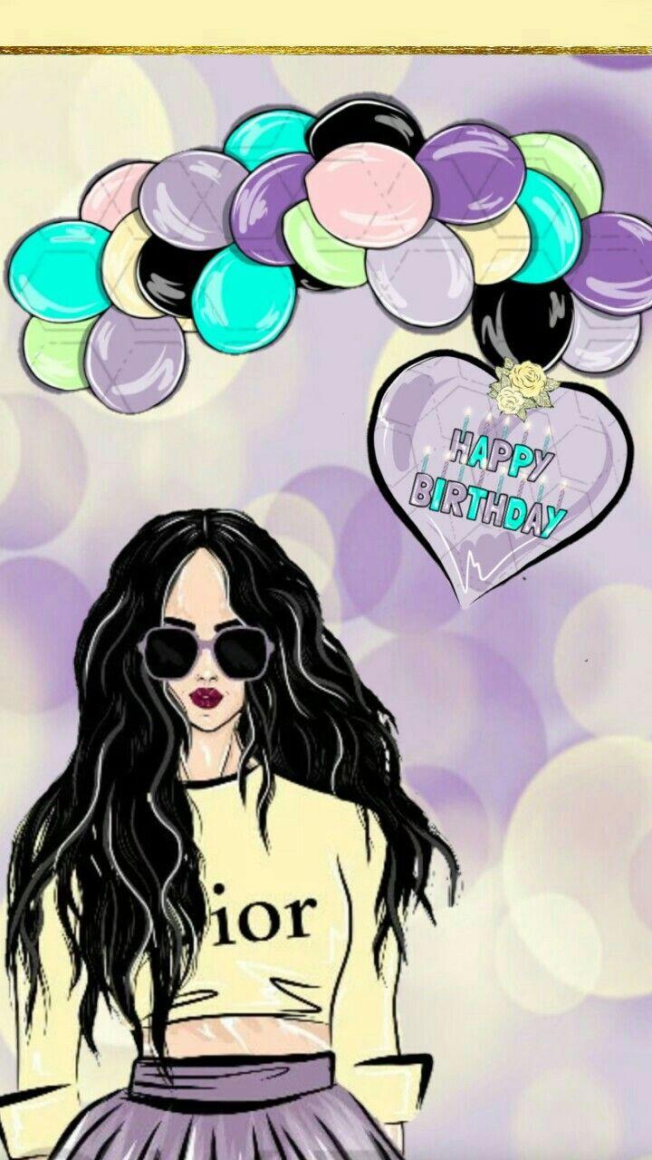Girly Background Happy Birthday In 2019 Happy Birthday