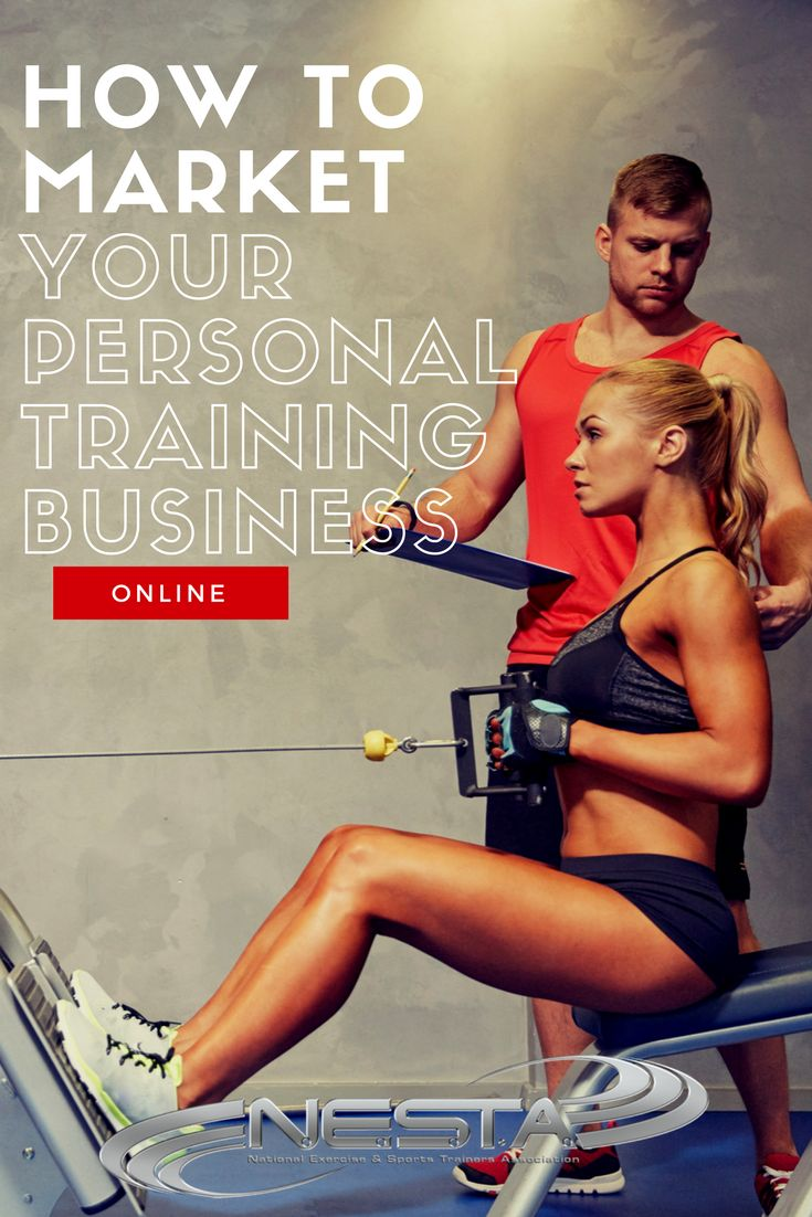 How to Market Your Personal Training Business Online // Learn marketing, systems, and sales for your personal training business.   Personal Trainer // Personal Training // Personal Training Business // Become a Personal Trainer