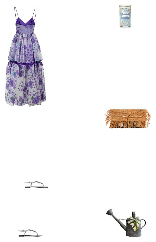 """Grace"" by zoechengrace on Polyvore featuring Malene Oddershede Bach, Giuseppe Zanotti, Yankee Candle and Sensi Studio"