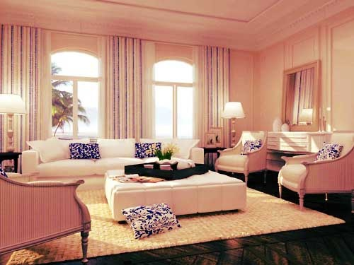 Fancy Living Room.