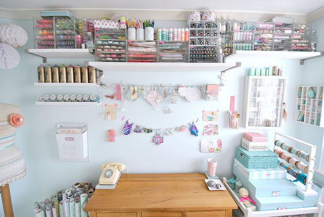My craft room Jan 2013