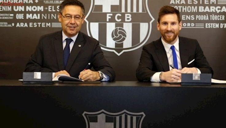 Contrato de Messi tem multa 3 vezes maior que de Neymar
