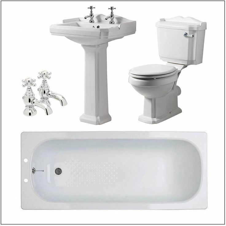 Winchester Traditional Family Bathroom Bundle