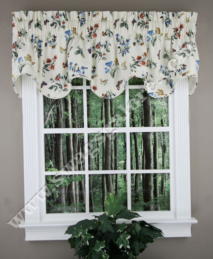 20 Best Scalloped Valances Images On Pinterest