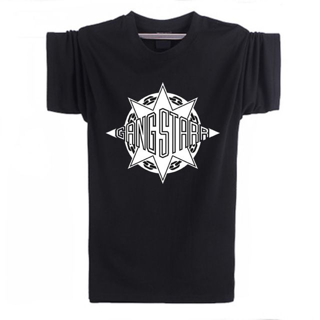 New fashion summer 2017 Gang Starr Logo T shirt Men Personalized Printed Cotton O Neck Short Sleeve Top Tees For Male