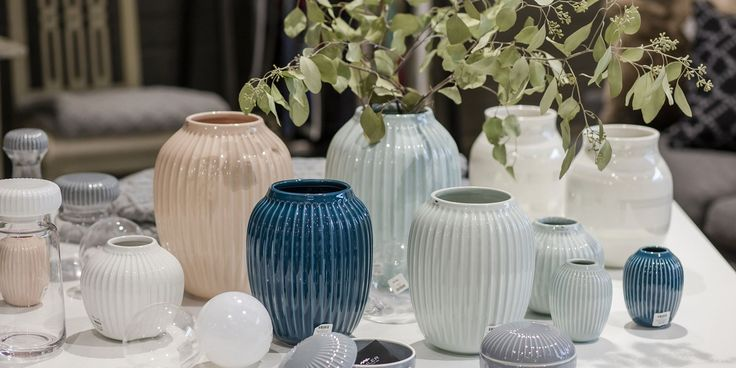 Beautiful vases for the summer by Kähler