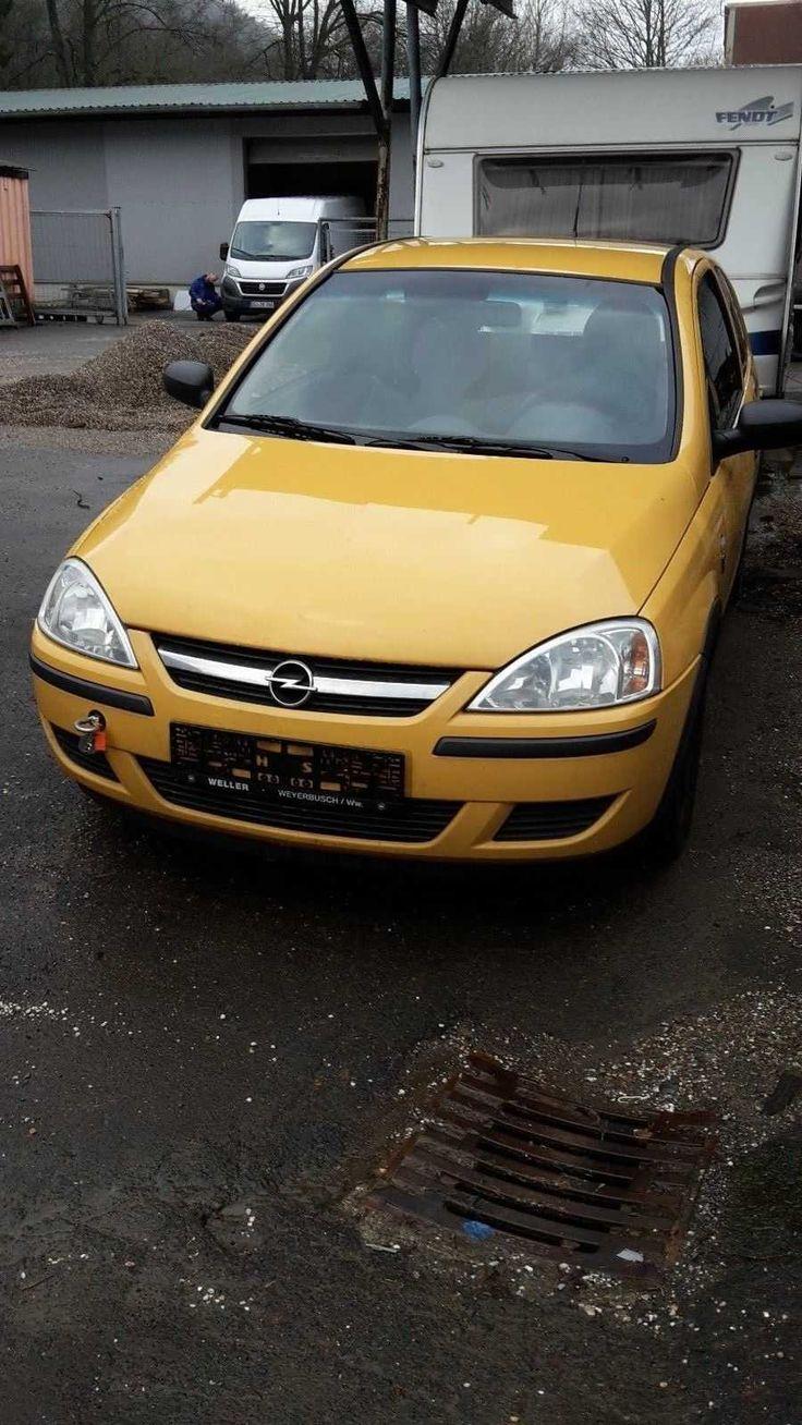 Opel CORSA-C - Motor defekt
