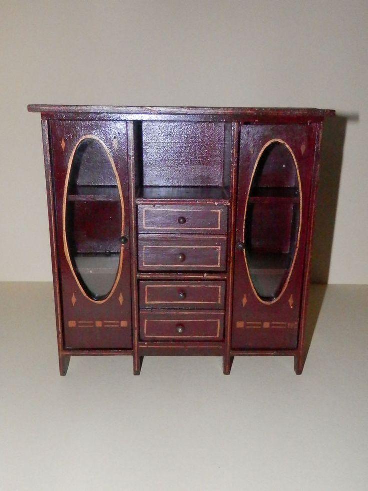 95 besten antike puppenstubenm bel bilder auf pinterest. Black Bedroom Furniture Sets. Home Design Ideas