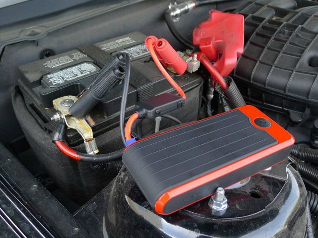 The PowerAll Portable Power Bank and Car Jump Starter is a power bank for your mobile devices AND can be used to jump start your car in an emergency.