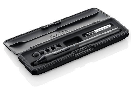 Wacom, stilus, pen, black, matte, rubber
