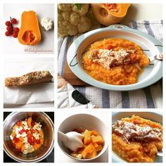 Baby food puree - Salmon & Butternut Squash Purée