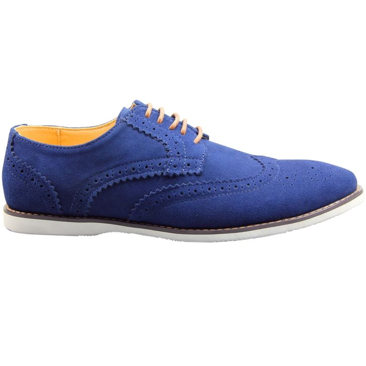 Brogue sailor blue men's shoe Christmas in #HTFSTYLE
