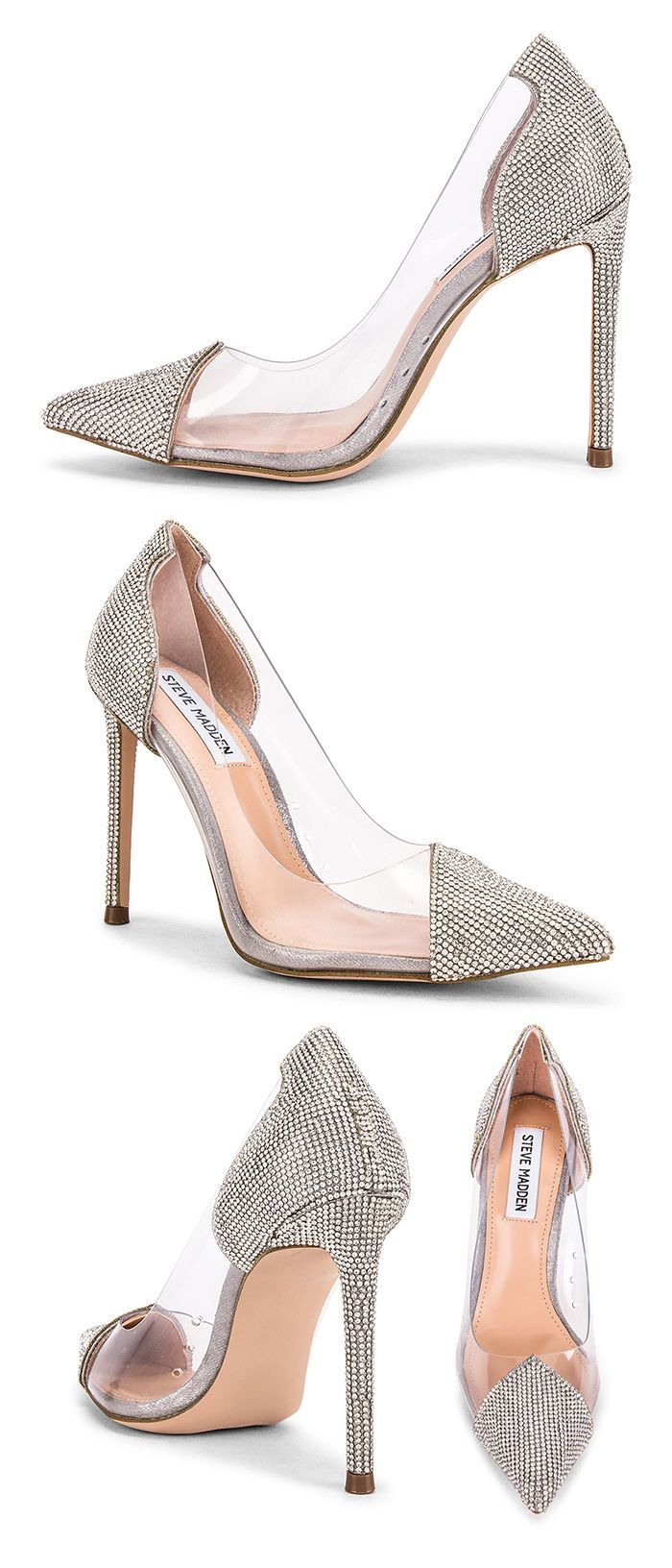 Silver Crystal High Heel Party Shoes Wedding Guest Outfit Ideas Fashion Shoe Addict A Steve Madden Shoes Heels Shoes For Wedding Guest Fashionista Shoes