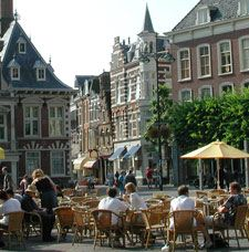 One of my favorite cities in the Netherlands. Wonderful restaurants and a packed market. I had a warm stroopwafel the size of my face there.
