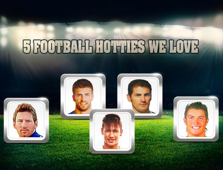 Five of the hottest footballers whom we love on & off field !