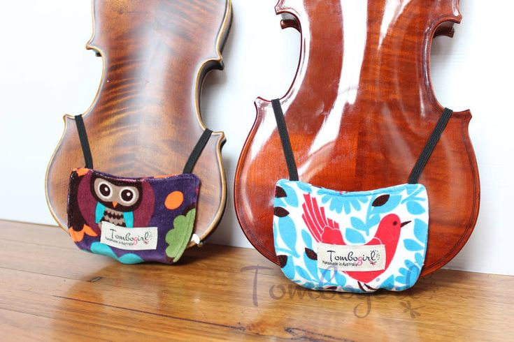 Violin Shoulder Rest & Chin Comforter for 1/4, 1/2, 3/4 and 4/4 - Australian made by Tombogirl on Etsy https://www.etsy.com/listing/245634638/violin-shoulder-rest-chin-comforter-for